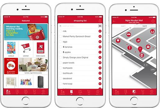 Target Mobile Application