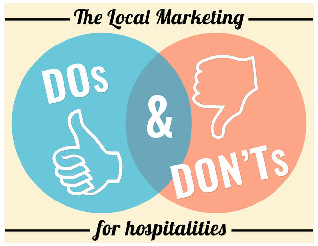 The Local Marketing Dos and Dont's for Hospitalities