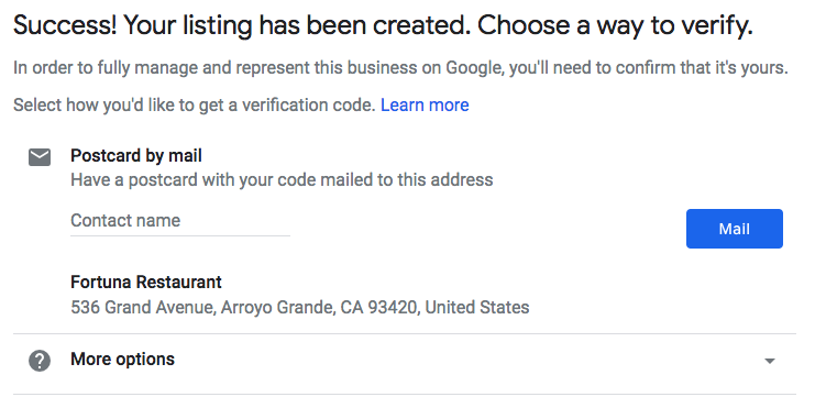 Google My Business Launches API Updates: Verification, Chain
