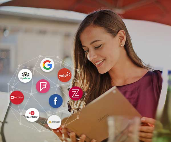 Digital menu syndication service by Brandify.