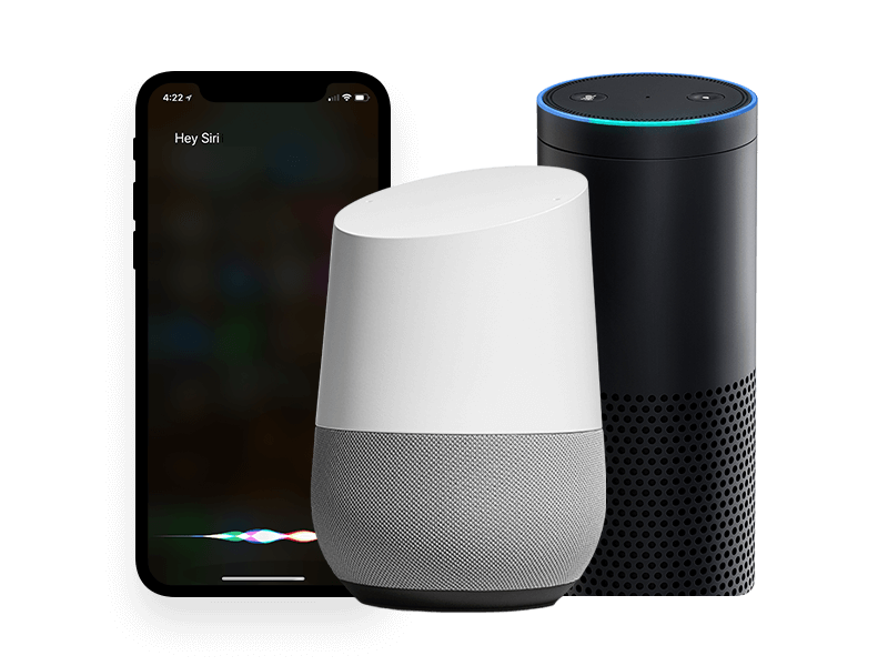 Whether people use Alexa or Google Home, Brandify makes sure your brand is present.