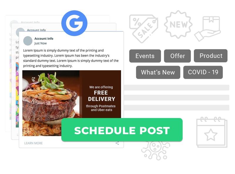 Google Posts Schedule
