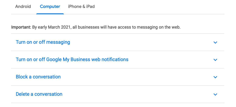 messaging-help