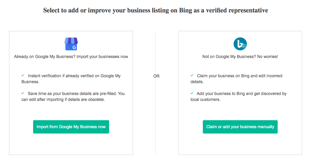 How To Claim Your Listing On Bing