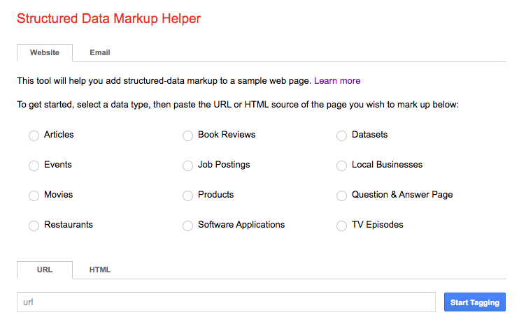 Schema Markup on Local Pages